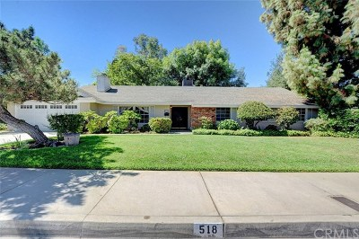 Redlands Single Family Home For Sale: 518 Camino Real