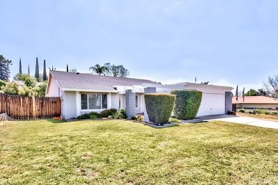 Calimesa Single Family Home For Sale: 1255 Lone Star Court