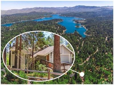 Lake Arrowhead CA Single Family Home For Sale: $874,000