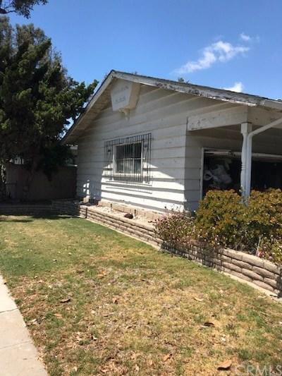 Long Beach Single Family Home For Sale: 1509 E 60th Street