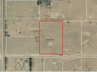Newberry Springs Residential Lots & Land For Sale: Tioga