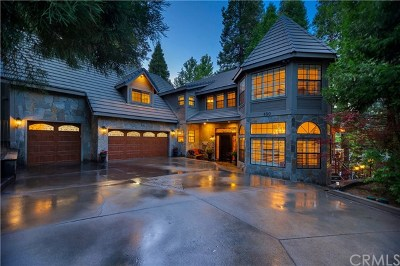 Lake Arrowhead CA Single Family Home For Sale: $1,350,000
