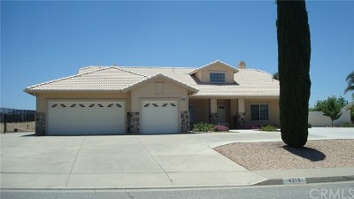 Banning Single Family Home For Sale: 4216 Evergreen Lane