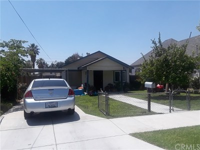 Redlands CA Single Family Home For Sale: $260,000