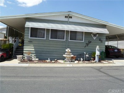 San Bernardino Mobile Home For Sale: 1010 Terrace Road