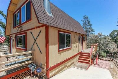 Big Bear CA Single Family Home For Sale: $329,500