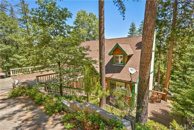 Lake Arrowhead Single Family Home For Sale: 318 Old Toll Road