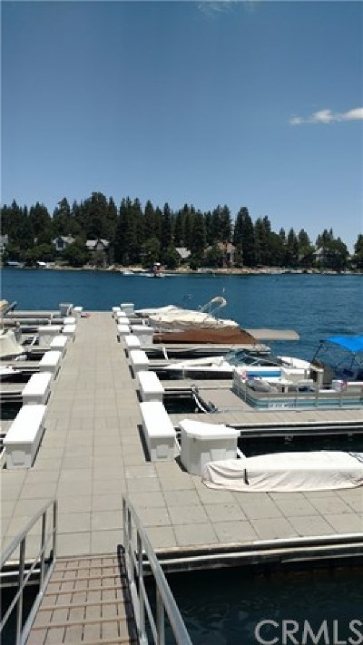 Lake Arrowhead Single Family Home For Sale: Lodge 3 Slip 12
