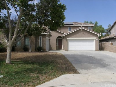 Perris Single Family Home For Sale: 3710 Sandstone Court