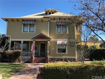 Redlands Single Family Home For Sale: 511 Cajon Street