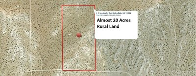 Helendale CA Residential Lots & Land For Sale: $18,990
