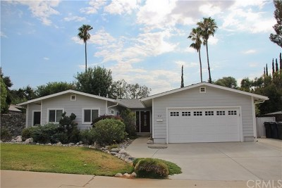 Redlands Single Family Home For Sale: 412 Robinhood Lane