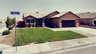 Adelanto Single Family Home For Sale: 11518 Villa Street