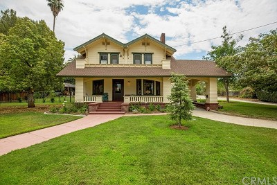 Redlands Multi Family Home Active Under Contract: 1113 W Palm Avenue