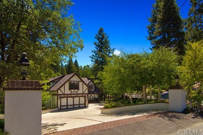 Lake Arrowhead Single Family Home For Sale: 700 Oak