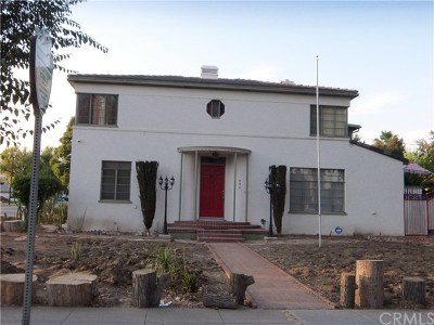 San Bernardino Single Family Home For Sale: 496 W 25th Street