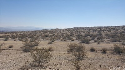 Barstow CA Residential Lots & Land For Sale: $17,000