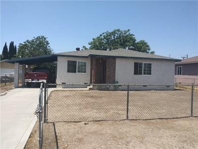 Fontana Single Family Home For Sale: 8950 S Maple Avenue