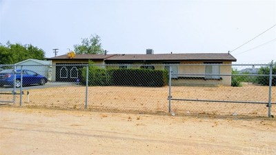 Hesperia Single Family Home For Sale: 15073 Mojave Street