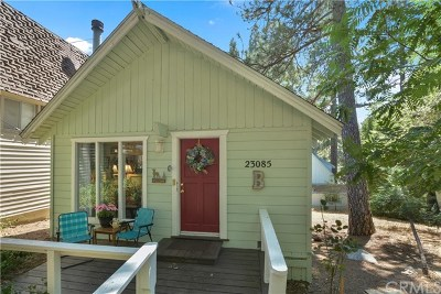 Crestline Single Family Home For Sale: 23085 Cedar Way
