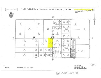 Lucerne Valley Residential Lots & Land For Sale: 74 Meridian Road
