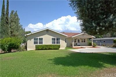 Redlands Single Family Home For Sale: 1809 E Citrus Avenue
