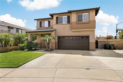 Rancho Cucamonga Single Family Home For Sale: 6568 Palo Verde Place