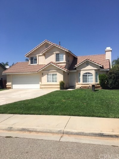 Calimesa Single Family Home For Sale: 184 Vista Lane