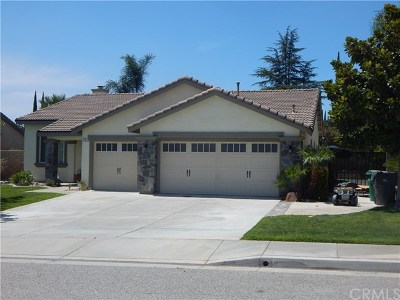 Banning Single Family Home For Sale: 1181 Foothill Drive