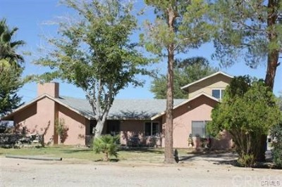 Lucerne Valley Single Family Home For Sale: 37316 Pearl Avenue