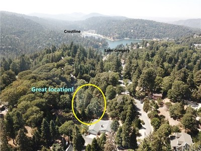 Crestline Residential Lots & Land For Sale: Saxon/Arth