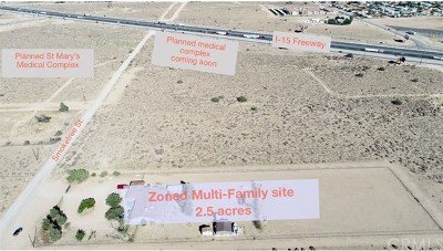 Victorville Residential Lots & Land For Sale: 13237 Smoketree Street