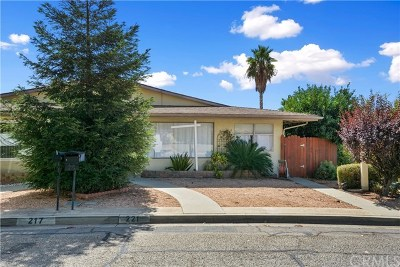 Calimesa Single Family Home For Sale: 221 Summit View Drive