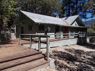 Idyllwild CA Single Family Home For Sale: $260,000
