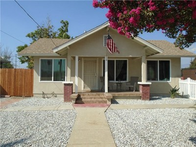 Redlands Single Family Home For Sale: 306 W Colton Avenue