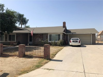 Jurupa Single Family Home For Sale: 11590 Jurupa Road