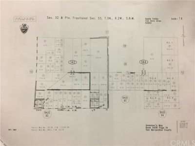 Apple Valley Residential Lots & Land For Sale: Pah-Ute