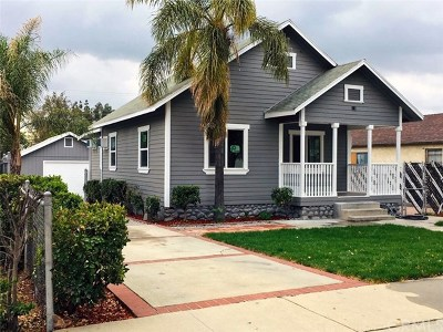 Upland Single Family Home For Sale: 1402 Bowen Street