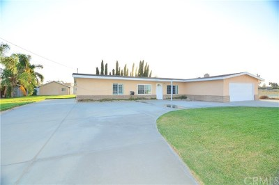 Jurupa Single Family Home For Sale: 6309 Dana Avenue