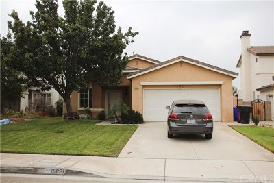 Fontana Single Family Home Active Under Contract: 15651 Gulfstream Avenue