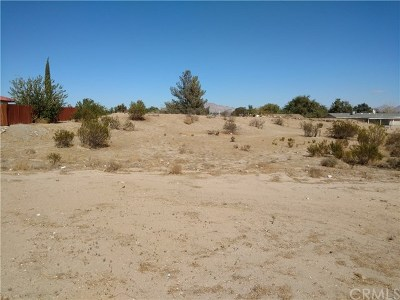 Victorville CA Residential Lots & Land For Sale: $40,000