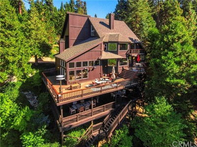 Blue Jay, Cedarpines Park, Crestline, Lake Arrowhead, Running Springs Area, Twin Peaks, Big Bear, Arrowbear, Cedar Glen, Rimforest Single Family Home For Sale: 654 Cumberland Drive