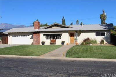 Calimesa Single Family Home For Sale: 1205 Holly Lane
