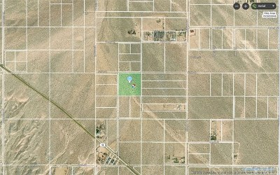 Lucerne Valley Residential Lots & Land For Sale: Sutter