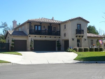 Yucaipa Single Family Home For Sale: 13794 Covered Wagon Court