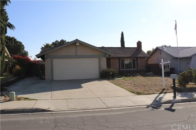 Moreno Valley Single Family Home For Sale: 24457 Sundial Way