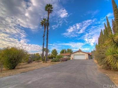 Riverside Single Family Home For Sale: 18400 Kross Road