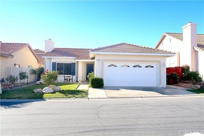 Banning CA Single Family Home For Sale: $210,000