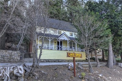 Lake Arrowhead Single Family Home For Sale: 855 Lake Drive