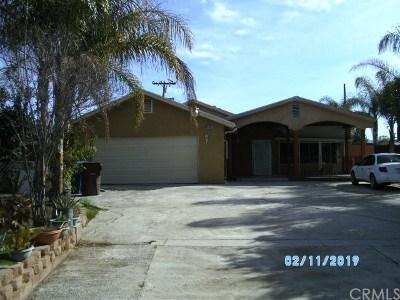 San Bernardino Single Family Home For Sale: 8035 Marilyn Street